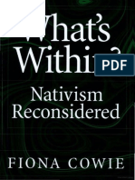 What's Within- Nativism Reconsidered.pdf
