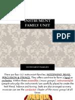 instrument family unit