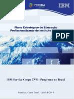 Plano Estratégico de Educação Profissionalizante Do Instituto Centec