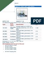 AG-800 Bulk Density Test Set