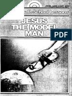 Jesus the Model Man Herb D