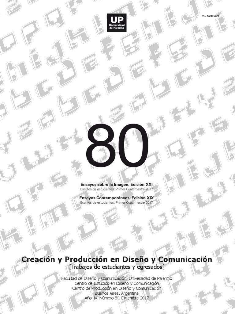 34fdaaac016 Creación y Producción en Diseño y Comunicación