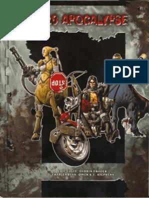 D20 Modern - Apocalypse pdf | Apocalyptic And Post