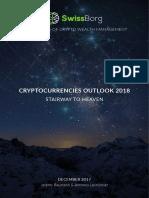 Swissborg Cryptocurrencies Outlook 2018
