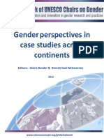 Bonder & Gender 2013 Gender Perspectives in Case Studies Across Continents