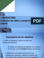 Fundamentos de Marketing. Cáp. 1 Creación de valor y compromiso del cliente.
