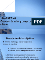 Fundamentos de Marketing. Cáp. 1 Creación de valor y compromiso del cliente.