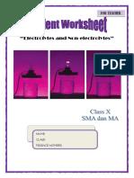Teacher Worksheet inquiry