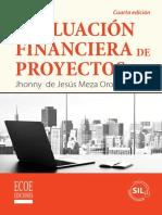 Evaluación Financiera de Proyectos 4ta Edición