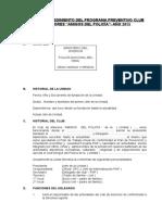 13.- Guia de Procedimiento- CLUBES de MENORES