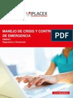Manejo de Crisis y Control de Emergencia