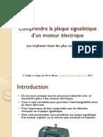 Plaque Signalitique Moteur electrique