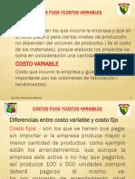 12. Costos Fijos y Variables