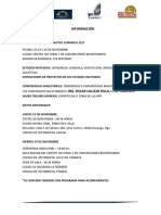 Información Foro Regional Amivtac Durango 2017