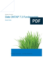 Data ONTAP 7.3 Fundamentals Student Guide
