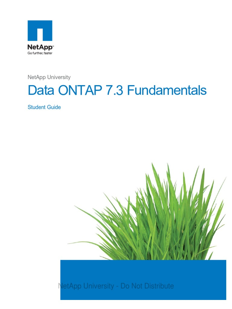 data ontap 7 3 fundamentals student guide command line interface rh scribd com