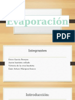 Quimica Evaporaciòn