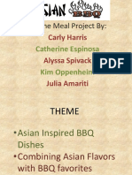 Theme Meal Project
