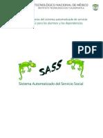 Manual de Usuarios Del Sistema Automatizado de Servicio Social