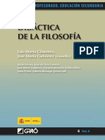 Didáctica de La Filosofía (Luis María Cifuentes)