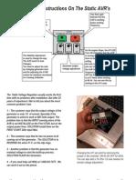 Static Regulator Instruccions 5