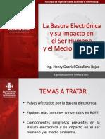La Basura Electrónica y Su Impacto en El Ser Humano y El Medio Ambiente