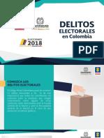 Delitos Electorales Colombia