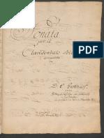 Grotthuss - Sonata in D Minor and Fugue in E Minor