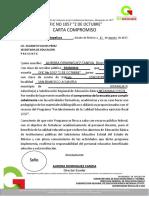 Carta Compromiso Pfce