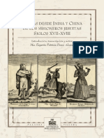 Portada cartas desde india y china