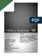Tarea No. 2 Voltaje y Amperaje Modificado