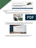 Informe de La Tuberia de Agua de Cascajo Azul