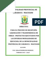 DIRECTIVA DE LIQUIDACION CARABAYA.docx
