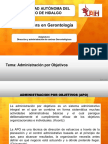1.7 Administracion Por Objetivos II.
