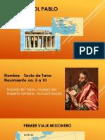 EL APOSTOL PABLO, Una Vida Al Servicio de Jesucristo