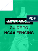 Better Fencer Guide NCAA Fencing
