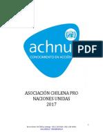 Asociación Chilena Pro Naciones Unidas (2008) - Género, Maltrato e Infancia