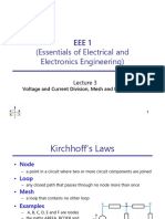 Eee1 Lecture03 Voltage and Current Division