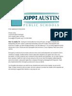 KIPP Bus Incident