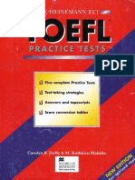 TOEFL Elt Practice