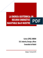 1. Energia Geotermica. Presente y Futuro