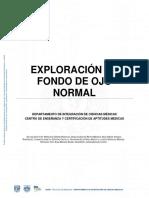 Exygguhuhjhploracion de Fondo de Ojo Normal