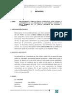 2.- Memoria Descriptiva San Pedro