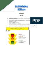 Actividades y Dinamicas Aulicas