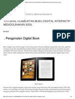 Tutorial Pembuatan Buku Digital Interaktif Menggunakan Sigil _ Berusaha Menulis