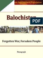 Balochistan Forgotten War Forsaken People