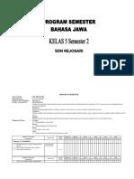 Promes Basa Jawa Kelas 5