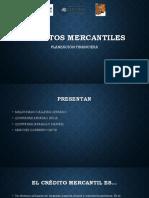CRÉDITOS MERCANTILES
