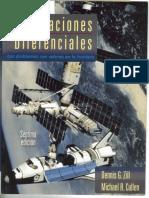 Ecuaciones Diferenciales 7 Edicion Con Valores en La Frontera Denis Zill