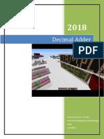 Decimal Adder